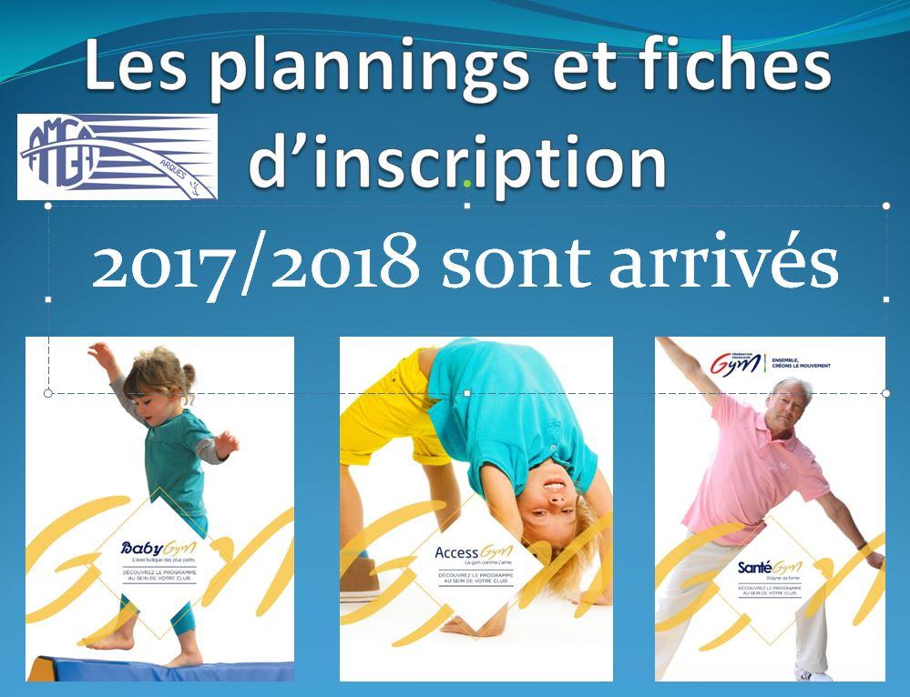 News: Planning AMGA 2017/2018