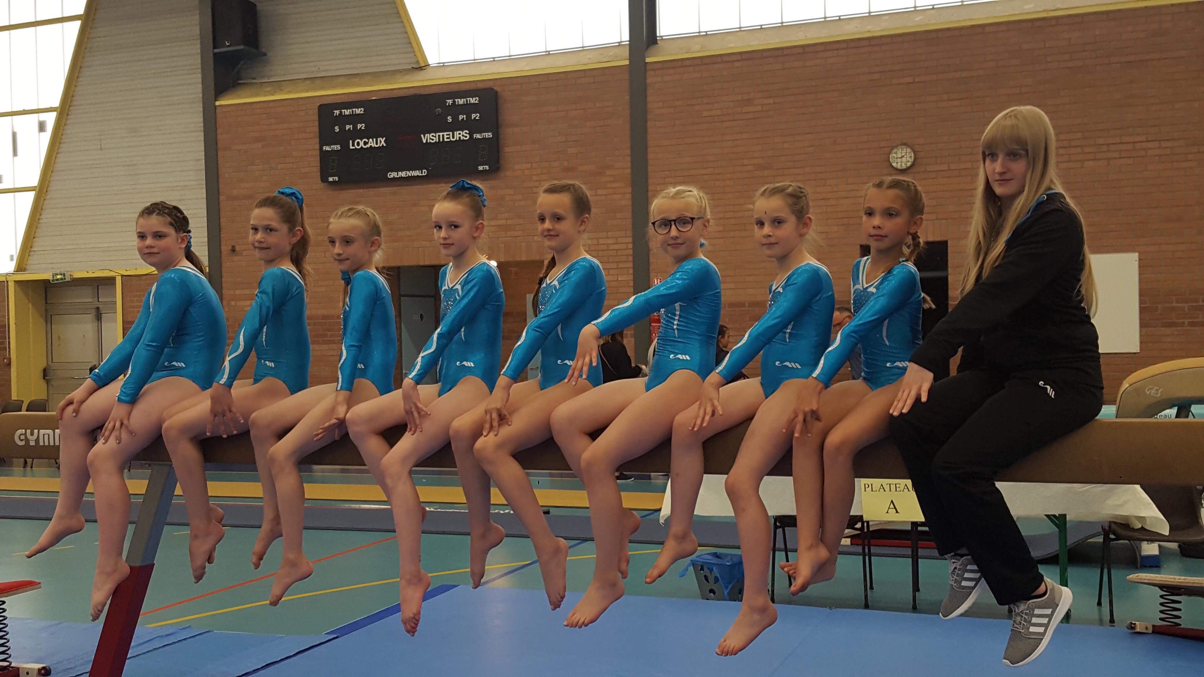 Gymnastique Artistique Féminine Arquoise : Finales Interdépartementales à Feignies