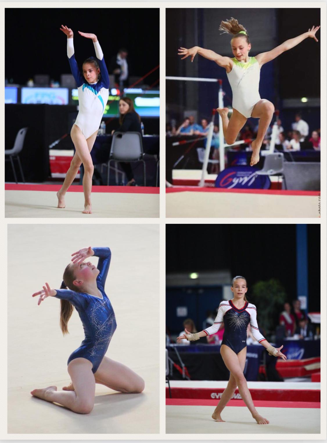 Championnats de France Individuelles à AUXERRE: Des résultats encourageants pour les 4 jeunes gymnastes Arquoises !!!