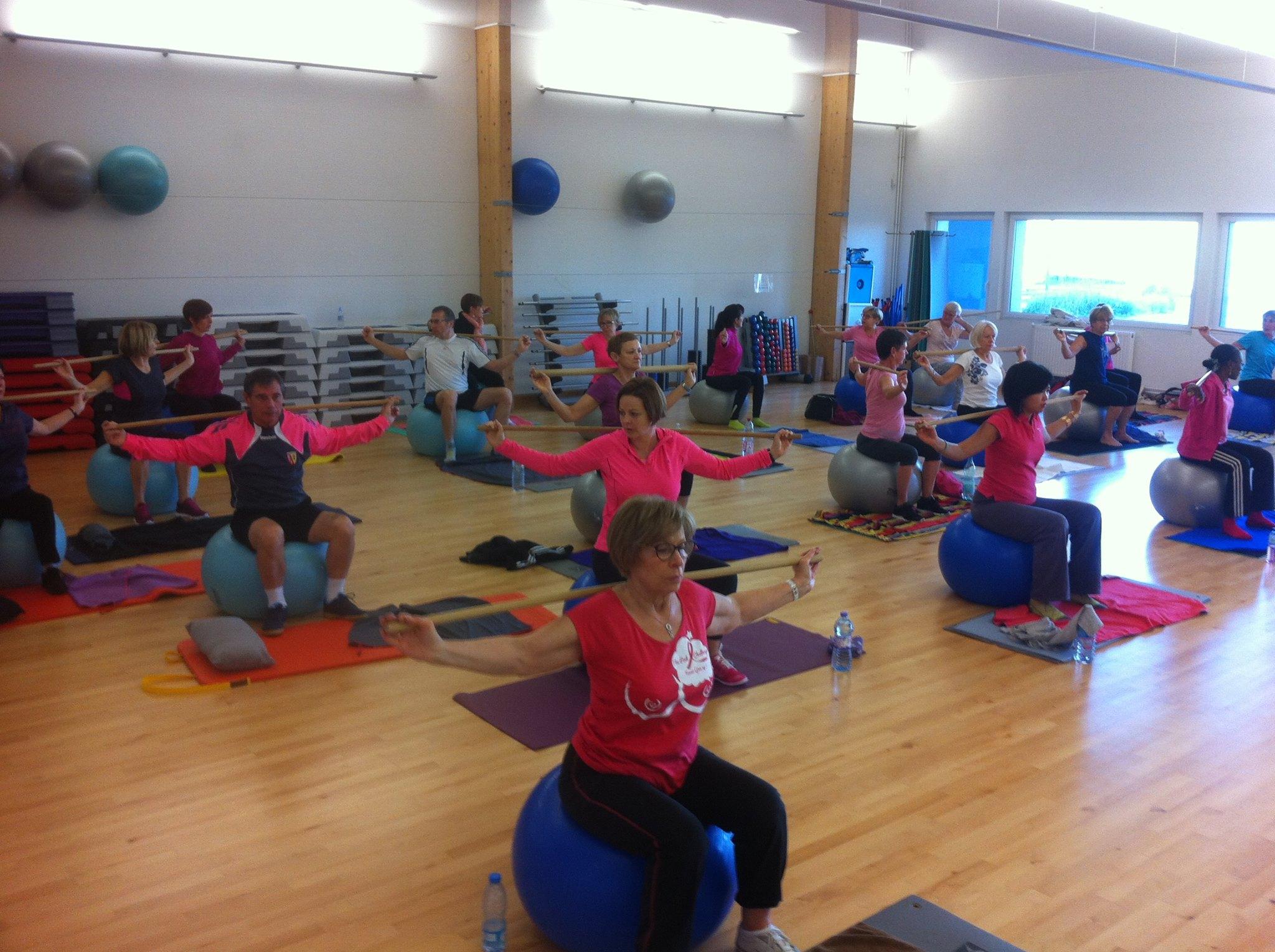Présentation des cours de Fitness