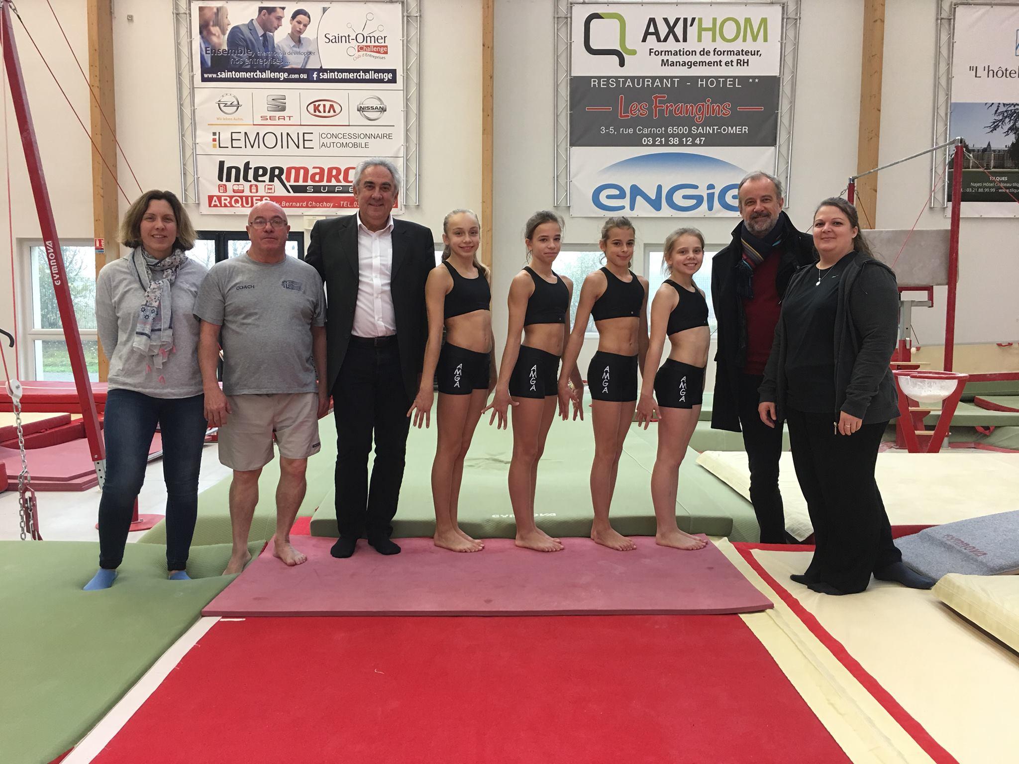 "Tournoi International GAF ""Sandra Cup Gym"" à Nottingham"