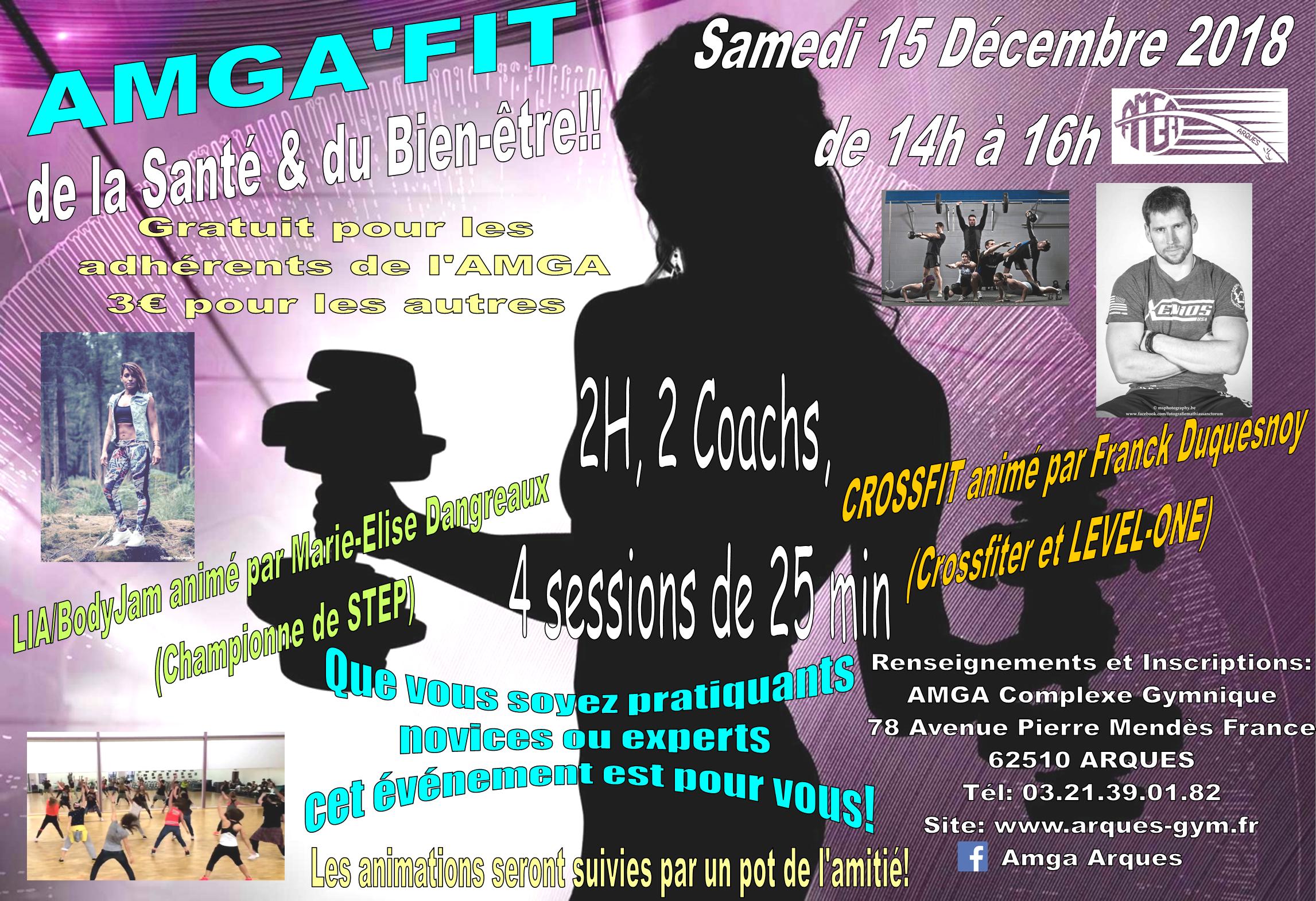 AMGA'FIT le samedi 15 décembre