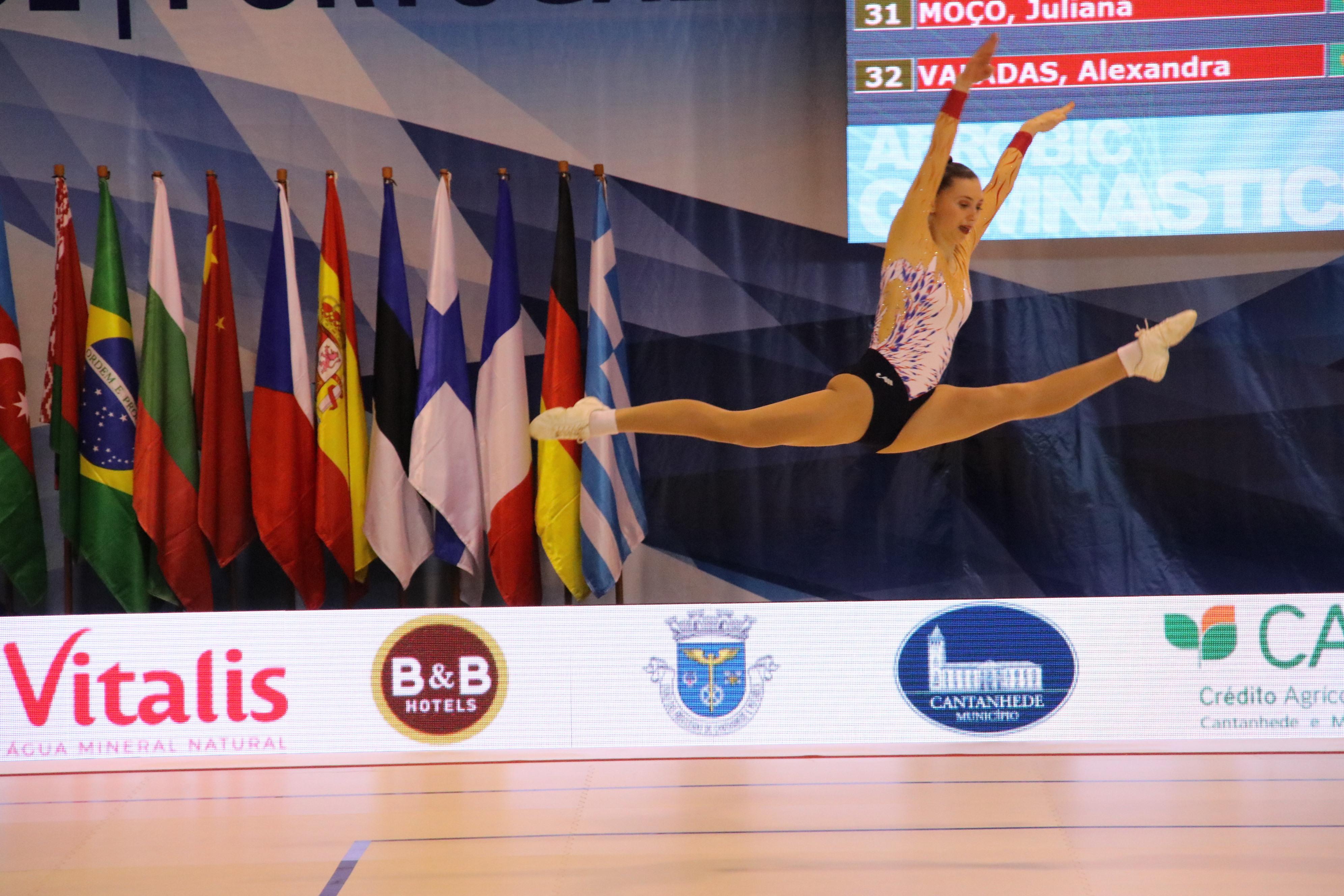 Trois Gymnastes représentent la France à Cantanhede