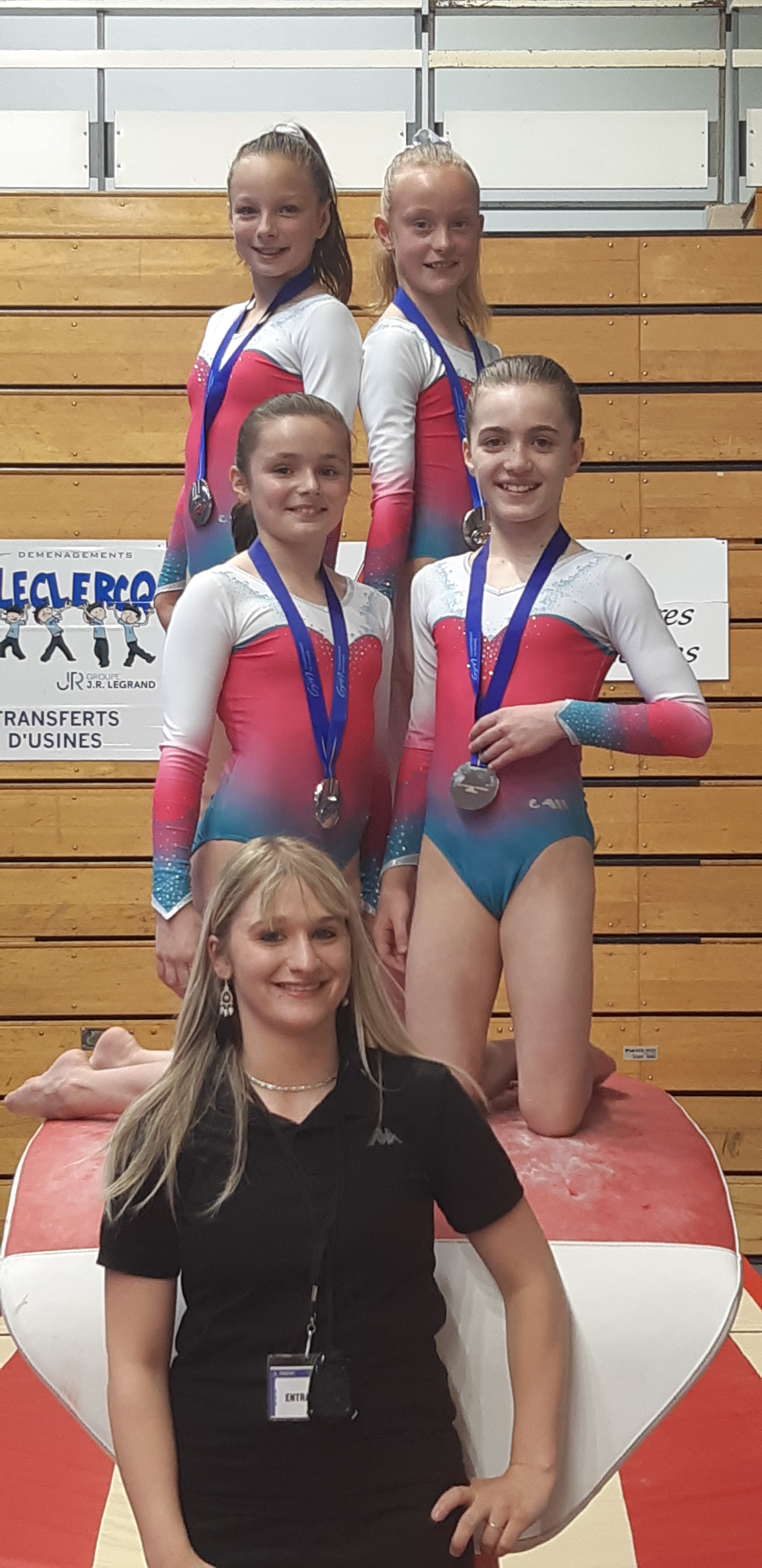 GYMNASTIQUE :CHAMPIONNAT DE France GAF PERFORMANCE :10-13 ans