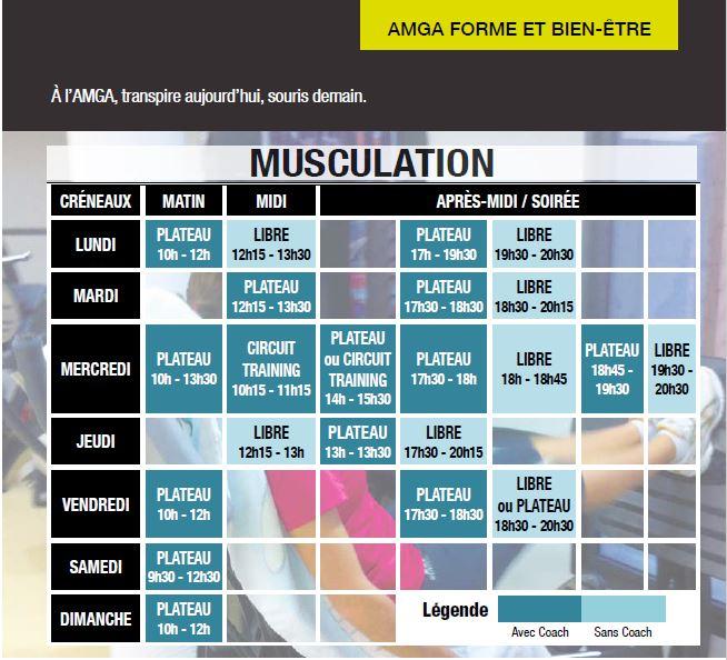 Le nouveau Planning Fitness est arrivé !!!!