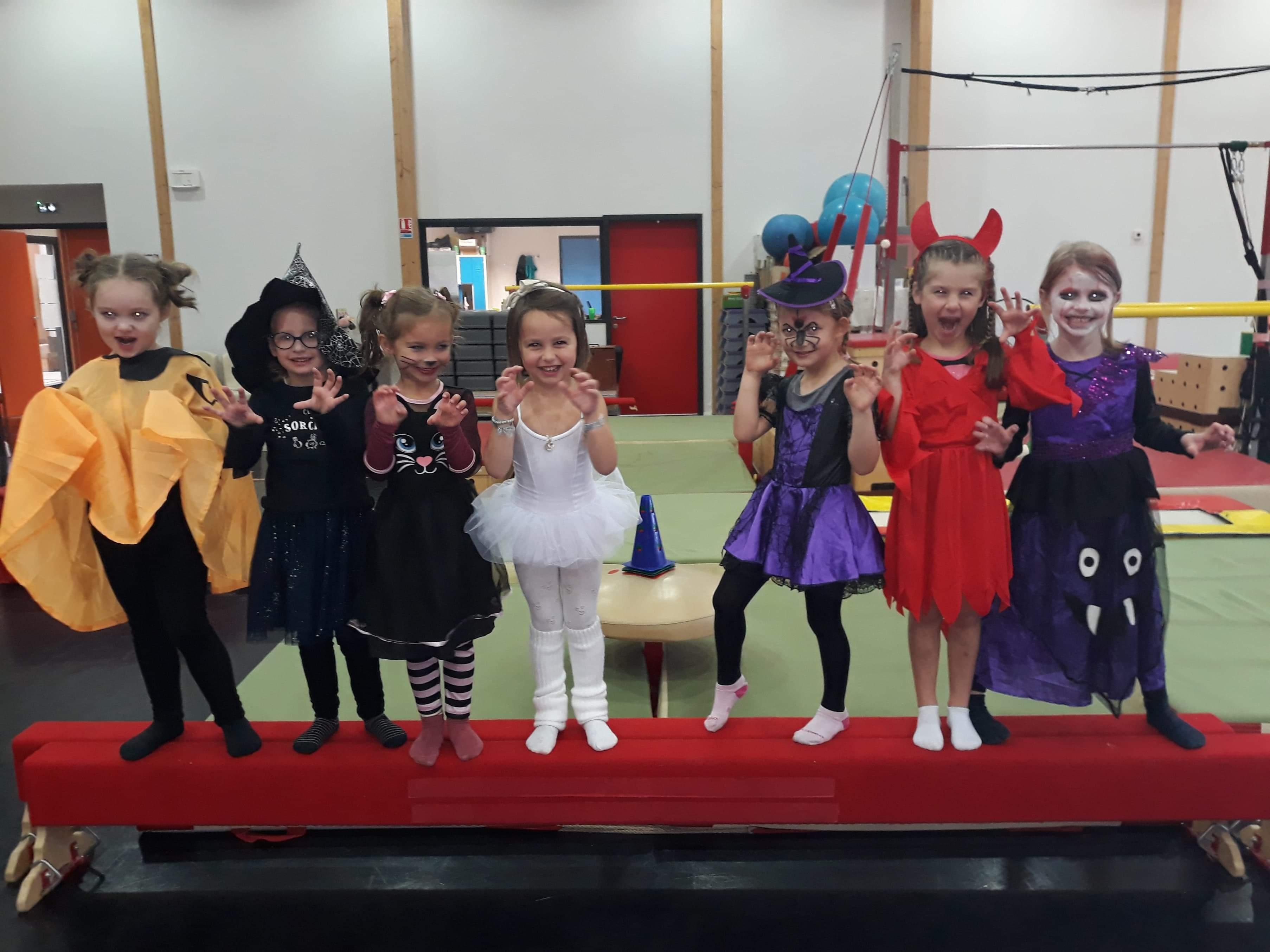Happy Halloween Eveil Aérogym danse