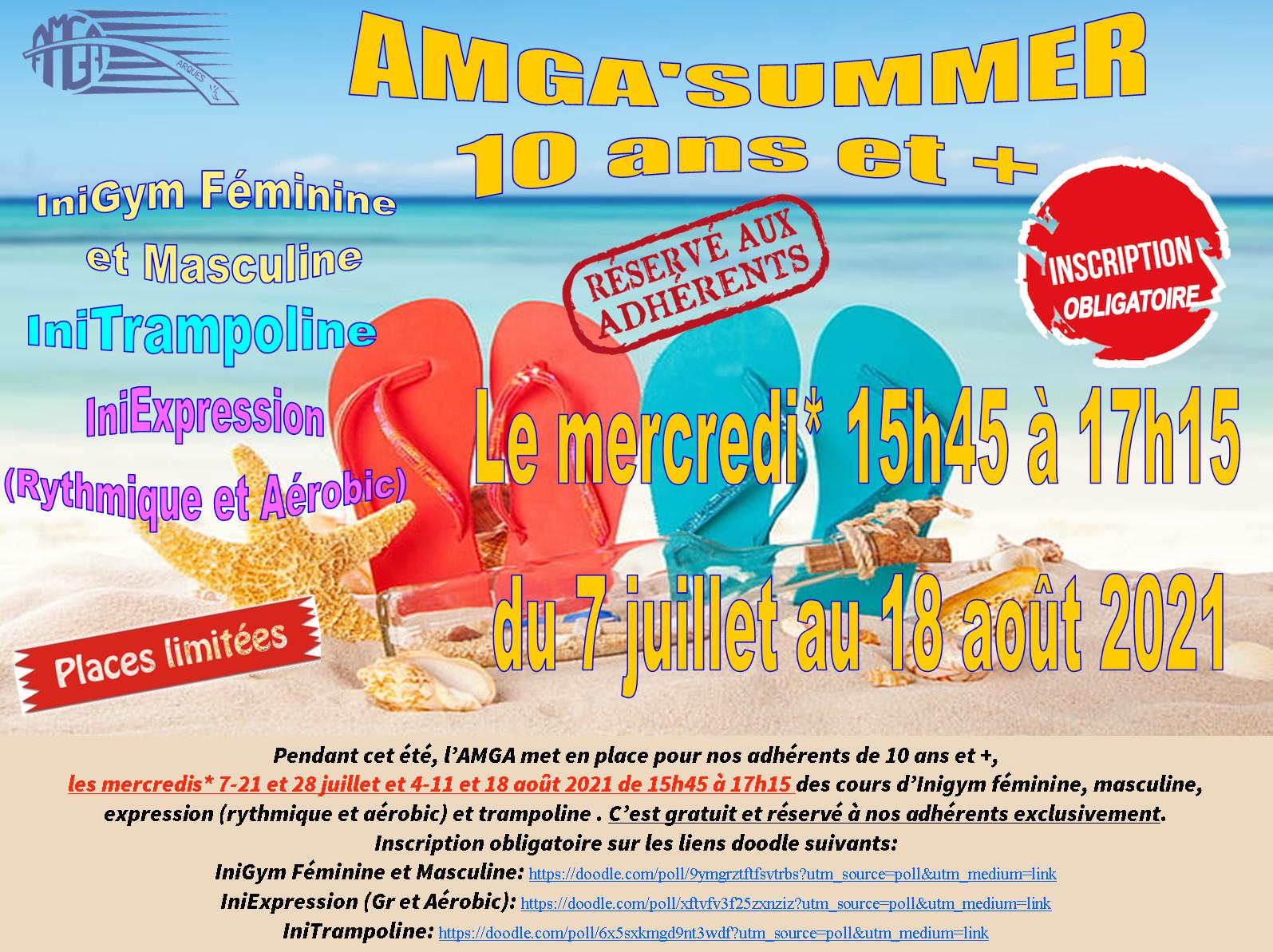 AMGA'Summer 10 ans et +