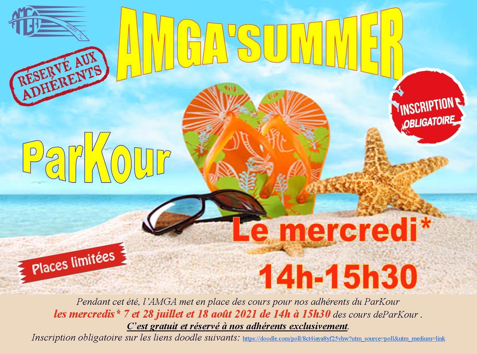 AMGA'Summer Parkour