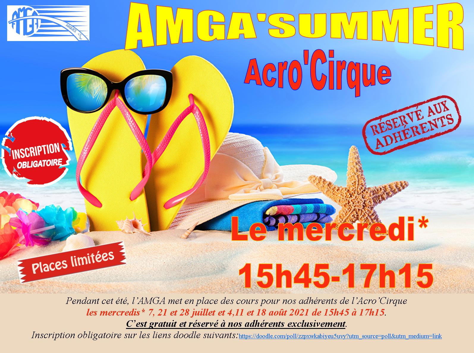AMGA'Summer Acro'Cirque