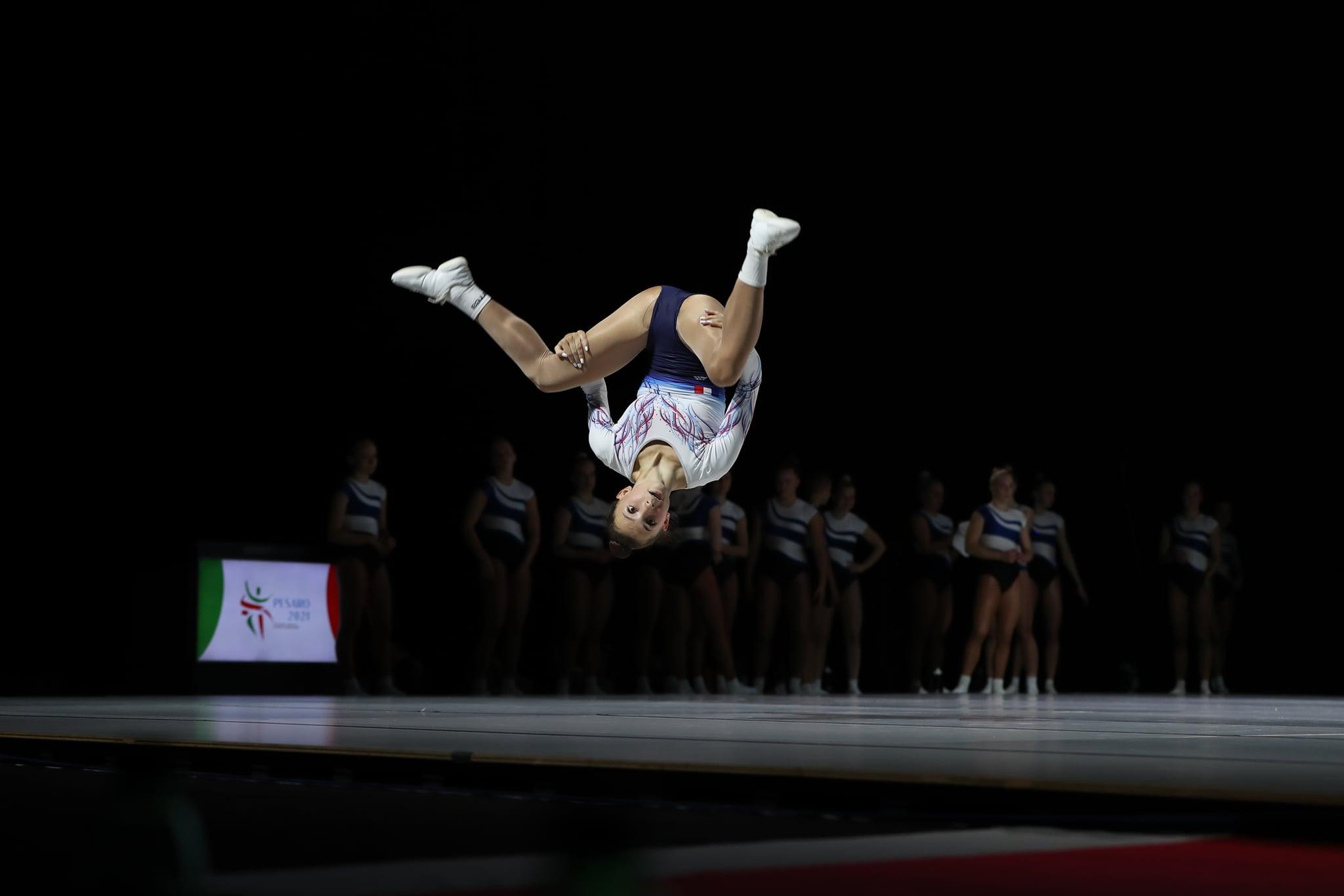 Championnats d'Europe de Gymnastique Aérobic ; Maëlys créera t'elle la surprise??