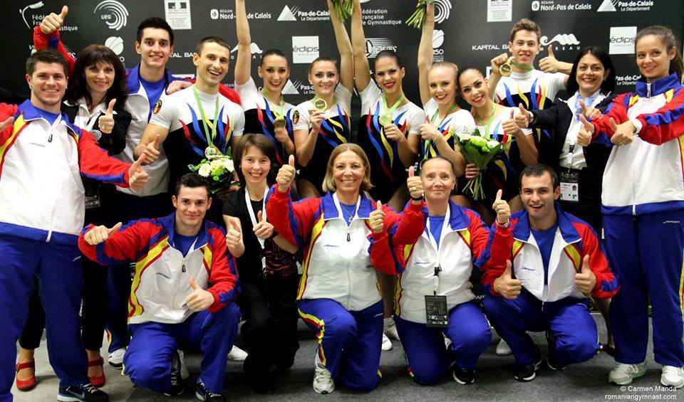 Championnat d'Europe de Gymnastique Aérobic au Complexe Gymnique d'Arques Programme et résultats