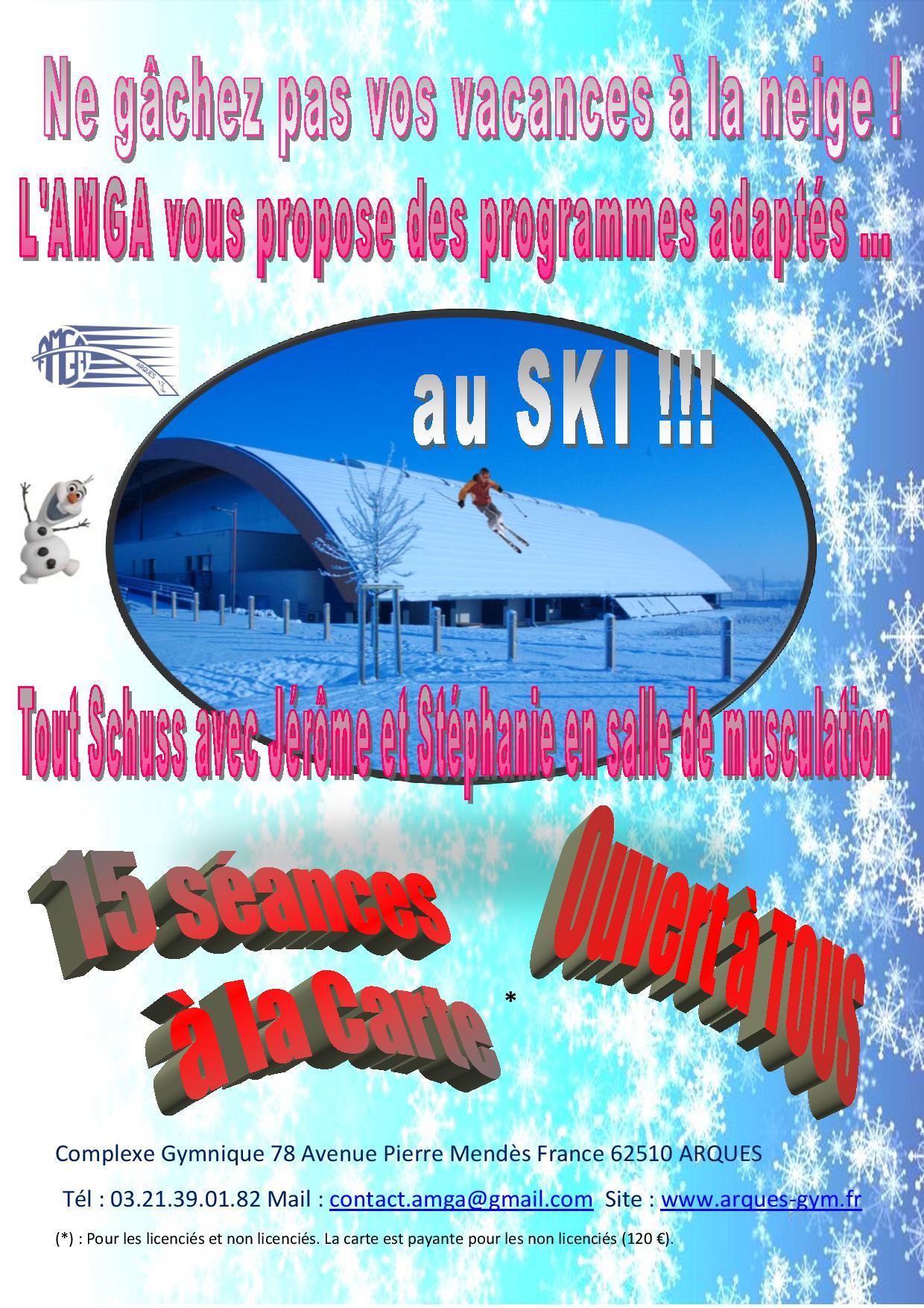 Préparation au Ski à l'AMGA