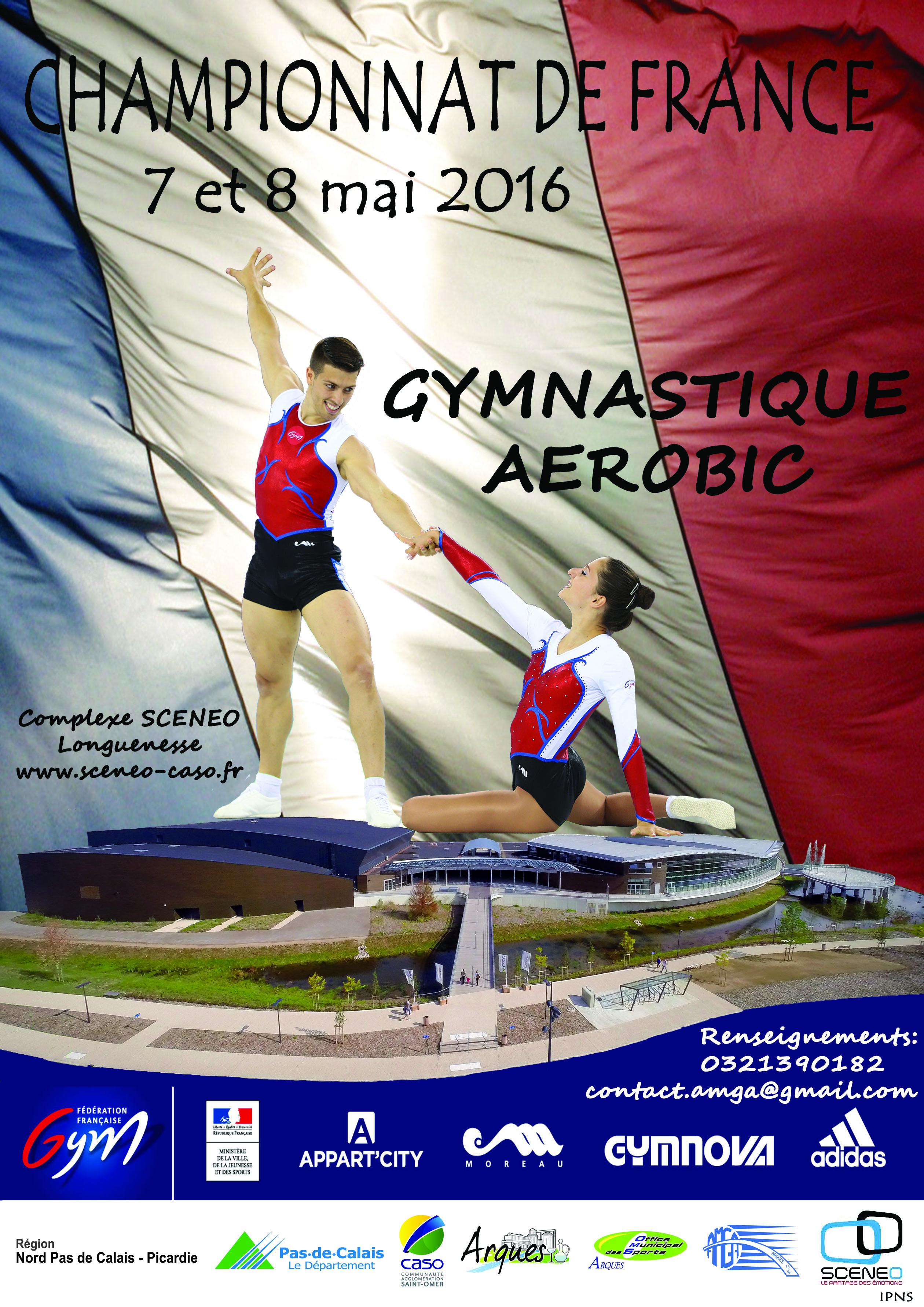 Championnat de France de Gymnastique Aérobic 7-8 mai 2016