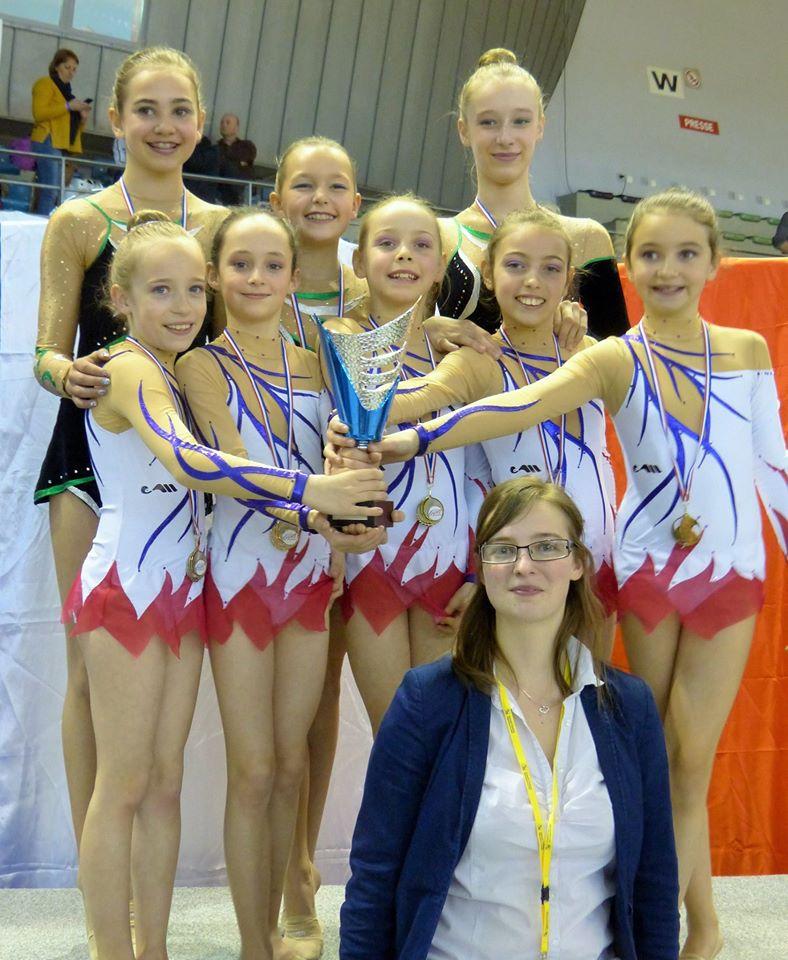 Direction les Championnats de France pour les Gymnastes en Gymnastique Rythmique de l'AMGA