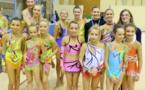 Et de 8 Médailles, pour les Gymnastes de la Gymnastique Rythmique de l'AMGA !!!!