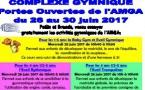 Portes Ouvertes de l'AMGA du 26 au 30 juin 2017