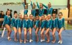 1ère Compétition pour la Gymnastique Artistique Féminine de l'AMGA