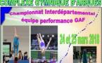 Finales Interdépartementales par équipe en Gymnastique Artistique Féminine et Masculine