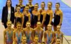 4 podiums pour la gymnastique rythmique arquoise