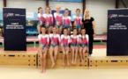 2 podiums pour les 2 équipes féminines de l'AMGA en Fédéral B 10-11 ans