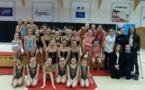 Championnat départemental de Gymnastique Rythmique 9 février à domicile