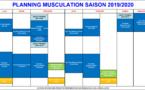 AMGA: Cours de musculation du 27 juin au 12 juillet