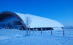 Le Complexe Gymnique sous la neige