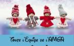 Toute l'Equipe de l'AMGA vous souhaite de Joyeuses Fêtes de Fin d'année