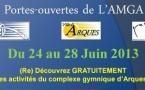 Semaine Portes Ouvertes de l'AMGA du 24 au 28 juin 2013