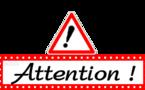 Annulation de cours des 14 et 15 mars 2015