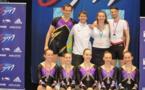 Championnat de France de Gymnastique Aérobic : Ensemble nous l'avons fait !!!!