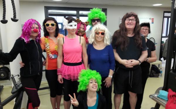 carnaval 2018 avec les adhérents musculation et fitness